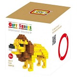 LOZ Diamond Blocks Gift Series Small Lion [9317] - Building Set Animal / Nature